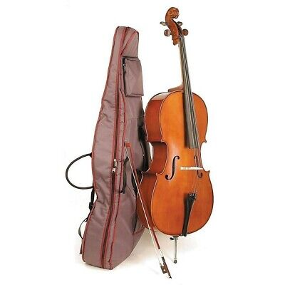 Stentor Student II Cello 4/4 Full Size with Bow and Padded Nylon Case - Used