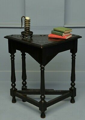 Charming Victorian Oak Gate-Leg Occasional Side-Table