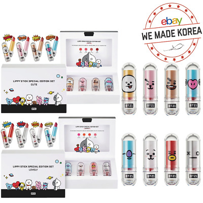 BTS BT21 VT COSMETIC Lippie Lip Stick Special Edition Set 2type Official Kpop MD
