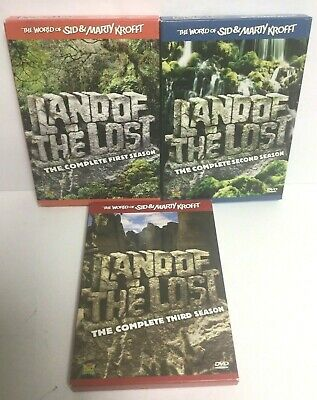 1974 LAND OF THE LOST Complete Series BOXED SET DVD Sid And Marty Krofft 43 EPS