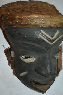 "orig $299 PENDE MASK,  EARLY 1900S 12"" PROV"