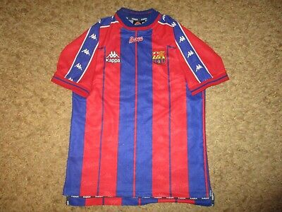 the best attitude f1d0e a8800 KAPPA FC BARCELONA shirt jersey vintage oldschool BARCA camiseta maglia FCB