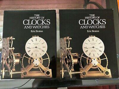 The History of clocks and watches, Eric Bruton 1st Ed With Deluxe Hard Cover