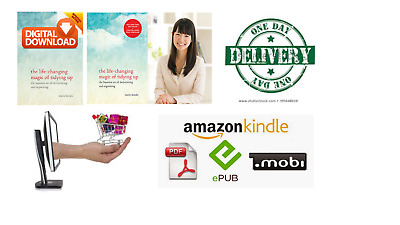 The Life Changing Magic of Tidying up by Marie Kondo [PDF/eBook+KINDLE+MOBI]