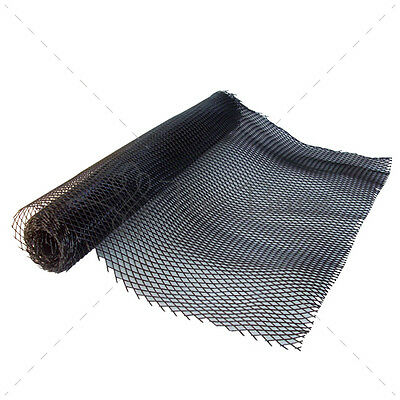 Bar Mat - Mesh Delux Coasters Black Colour Schblk 300X60CM