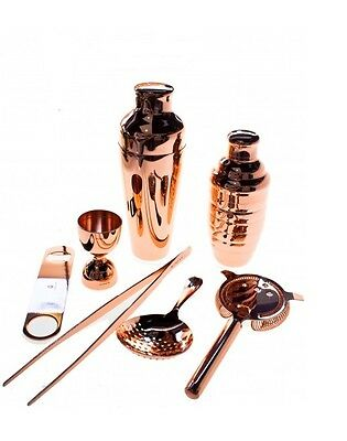Kit Barman 7 Pieces Copper Colour Vintage Lumian Copper 01 Bartender