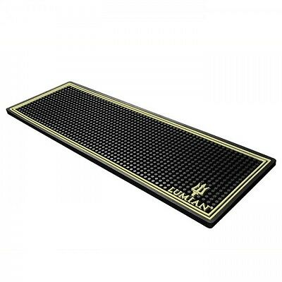 Bar Mat - Plain Barman Rests Glasses Gold 60cmx20cmx1h