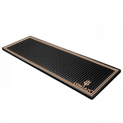 Bar Mat - Plain Barman Rests Glasses Copper 60cmx20cmx1h