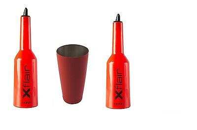 2 Flair Bottle Kit Red with Tin Boston 28oz Balanced Red
