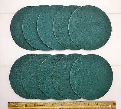 "10 - 5"" x NH Blue Very Fine Scotch-Brite J Hook Surface Conditioning Disk, 04303"