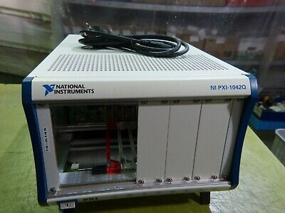 National Instruments NI PXI-1042Q 8-Slot PXI Chassis