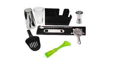 Equipment Bartender Bartender Shaker 9 Pieces Kit Inox Kit Barman Muddler Neon