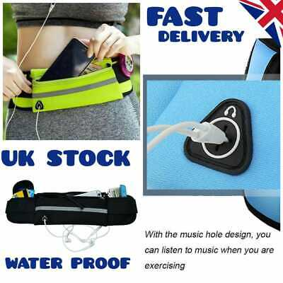 Unisex Waist Belt Bum Bag Jogging Running Travel Pouch Keys Mobile Cash