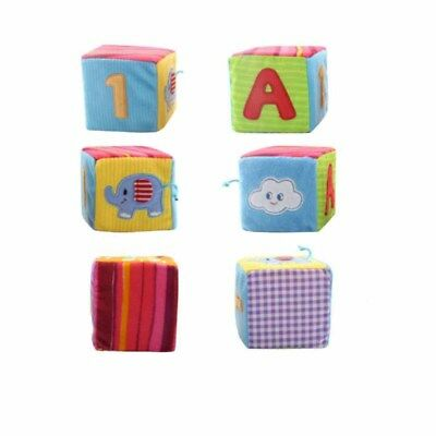 4 Piece/Set Colorful Soft Early Enlightenment Building Blocks For Baby Gifts