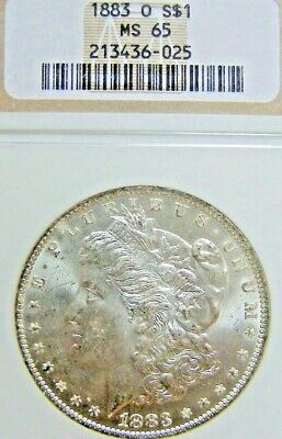 1883-O Morgan Silver Dollar NGC MS-65 FREE Returns Priced to Sell No Reserve K0