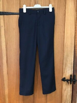 Next Lovely Boys  Blue Trousers Age 9yrs In Excellent Condition