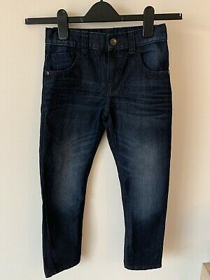 Boys Bluezoo Debenhams Dark Blue Jeans Age 10 Adjustable Waist