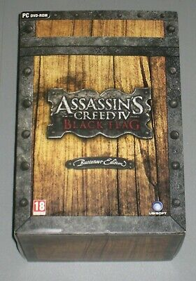 Assassins Creed IV Black Flag Buccaneer Edition PC DVD UK PAL Limited New 4