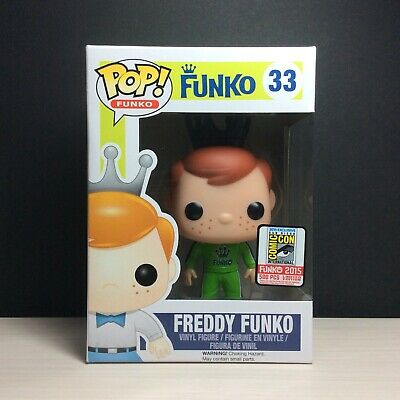 🔥Funko Pop Talladega Nights Green FREDDY 2015 SDCC Vaulted Mint Protector 🔥