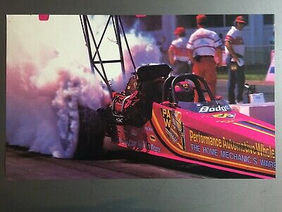 1989 Shirley Muldowney's Dodge NHRA Top Fuel Dragster Print, Picture, Poster
