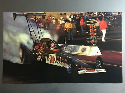 1989 Dick LaHale's Miller High Life NHRA Top Fuel Dragster Print Picture Poster