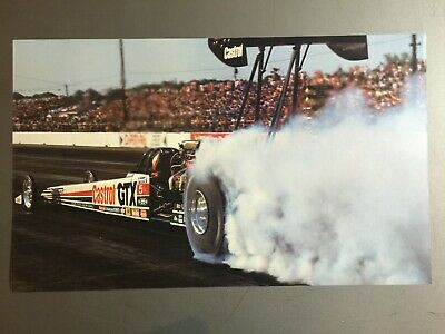 1989 Gary Ormsby's Castrol GTX NHRA Top Fuel Dragster Print, Picture, Poster