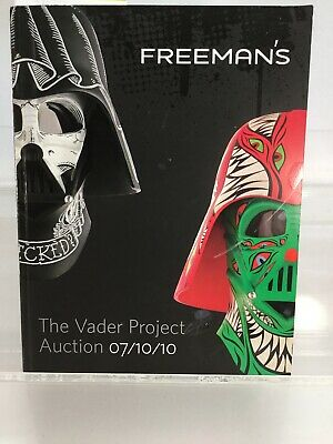 Star Wars The Vader Project Auction Catalog 7/10/10 SIGNED 100 Helmet Exhibition