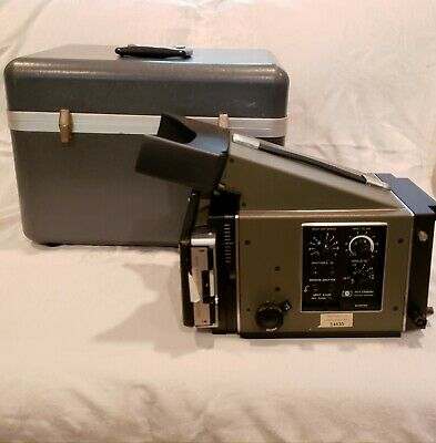 1965 Hewlett Packard 197A Oscilloscope Camera, Film And Case