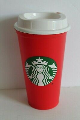 Starbucks 2018 Limited Edition Christmas Holiday Red Cup 16 oz Reusable NEW