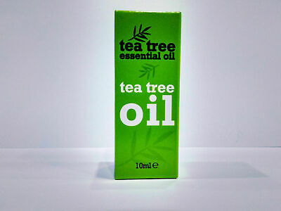 Tea Tree Essential Oil 10ml Melaleuca Alternifolia Anti Fungal Skin Nails Fast
