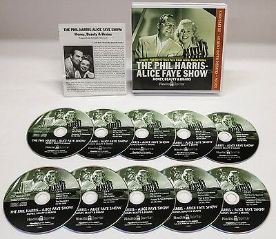 The Phil Harris-Alice Faye Show : Money, Brains and Beauty (2008, CD)