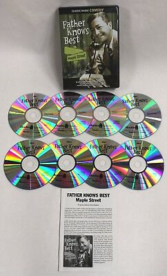 """Father Knows Best """"Maple Street"""" Old Time Radio Classics 8 CD's + BONUS Guide"""