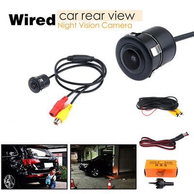 Waterproof License Plate Car Rear View Camera Vehicle Parking Monitor Back Cams
