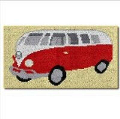 "Latch Hook Rug Kit""VW Camper Van""41x74cm"