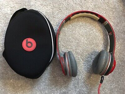 Beats by Dr. Dre Solo HD On-Ear Headphones Special Edition - Red