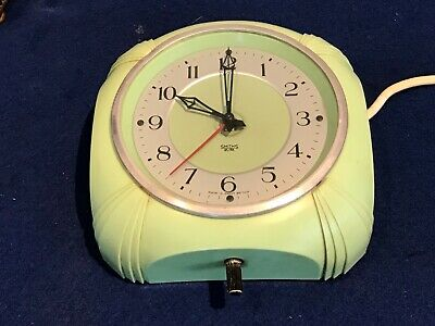 Superb 1950's Smiths Sectric Electric Kitchen Clock