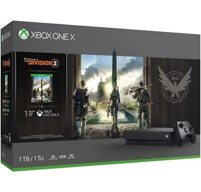 Console Xbox One X 1 Tb + Tom Clancy's The Division 2 Limited Bundle