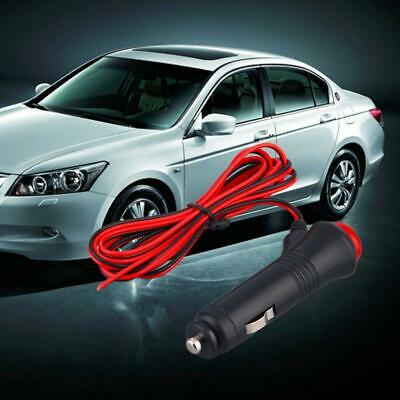 12/24V 1.5m Car Motorcycle Cigarette Lighter Power Plug Adapters DC Wire Switch