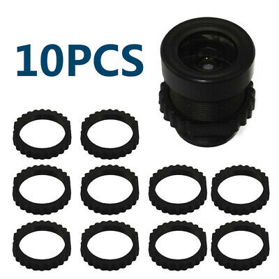 M12x0.5 CCTV Cameras Board Lens Plastic Lock Tube-Rings Thread Adapter Lock PK10