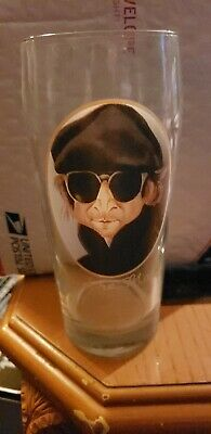 FLYING SAUCER ~Nowhere Man John Lennon 2008 ~ 16oz Shaker Beer Pint Glass FS