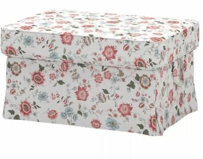 Outstanding Ikea Ektorp Footstool Ottoman W Storage Replacement Cover Ibusinesslaw Wood Chair Design Ideas Ibusinesslaworg