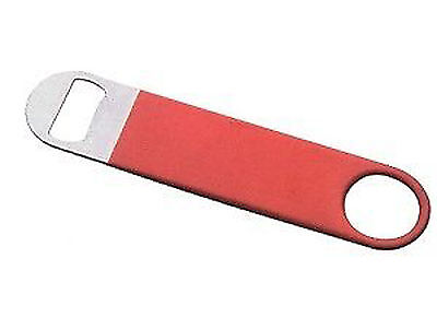 Bottle Opener Rubberized 22 cm Red Equipment BAR