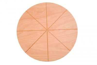 Tray Pizza in Beech Wood Certified Food VBS50/8