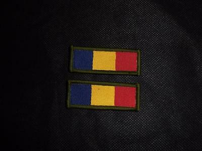 NEW Pair of British Army REME TRF Badges / Patches