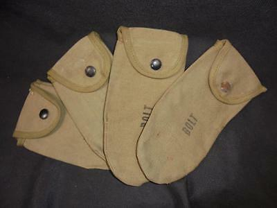WWII US Army Military M1 Carbine Spare Parts/Bolt Pouch