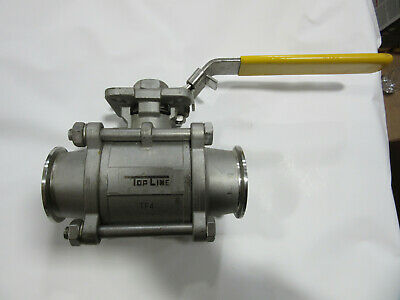 "Top Line CF8M Stainless Steel Valve 2"" 1000 WOG VGC!!!"
