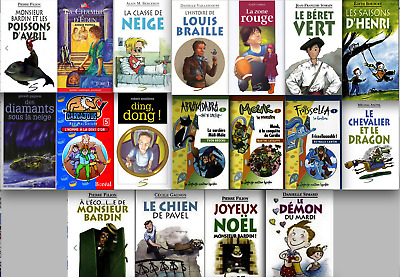 Lot 17 new learning french children young adults books collection school library