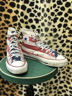 Original Made In The USA Converse Stars And Stripes 4.5