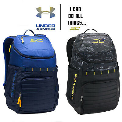316db660300 SC30 Undeniable Backpack Under Armour Black Stephen Curry UA Warriors Blue  Navy