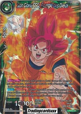 ♦Dragon Ball Super♦ Son Goku SSG, Energie des Dieux : P-094 PR -VF
